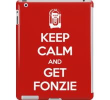 Keep Calm - Get Fonzie iPad Case/Skin