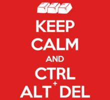 Keep Calm - Ctrl + Alt + Del One Piece - Short Sleeve