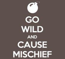 Keep Calm - Cause Mischief One Piece - Short Sleeve