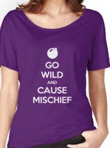 Keep Calm - Cause Mischief Women's Relaxed Fit T-Shirt