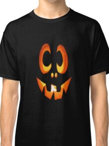 Vector Image of Friendly Halloween Pumpkin Classic T-Shirt