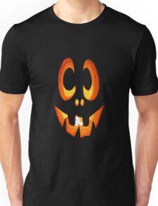 Vector Image of Friendly Halloween Pumpkin Unisex T-Shirt