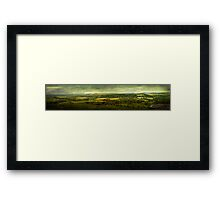 View from Combestone Tor Framed Print