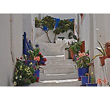 Stairway, Naxos Photographic Print
