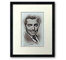Clark Gable Framed Print