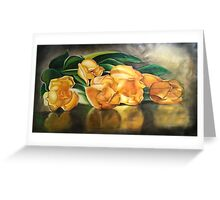 55. Yellow Tulips Greeting Card