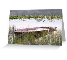 Serenity at Stanton Lake Greeting Card