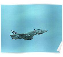 RAN Skyhawk @ Navy Day Air Show 1980 Poster