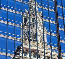 Chicago Reflections by Kam Johnson
