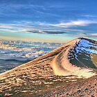 How To Make Snow From Fire   -   Mauna Kea, HI by Edith Reynolds
