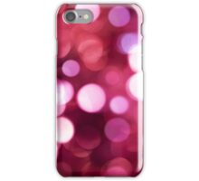 Pink Sparkled iPhone Case/Skin