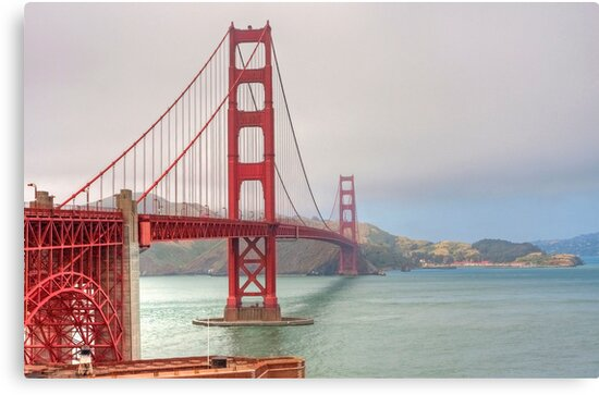 Golden Gate Bridge by Martin Smart