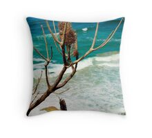 The Lookout - Burleigh Beach Throw Pillow
