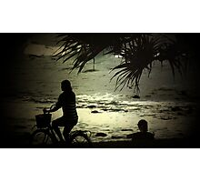 Peaceful at North Burleigh Photographic Print