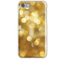 Gold Sparkled iPhone Case/Skin