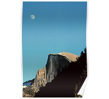 MOONRISE,HALF DOME Poster