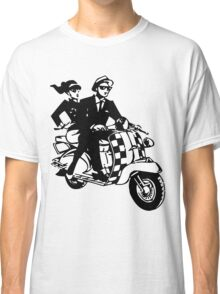 Ska Couple on Scooter Classic T-Shirt