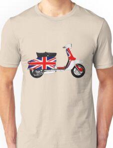 Scooter British Flag Unisex T-Shirt