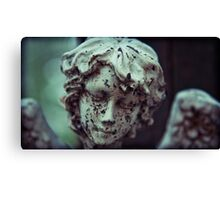 dirty faced angel Canvas Print