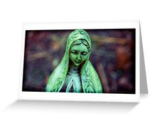 plastic madonna Greeting Card