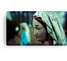 madonna, her twin, in the distance christ Canvas Print