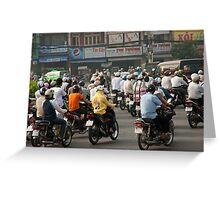 Welcome To Saigon Greeting Card