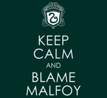 Keep Calm and Blame Malfoy by lemon-skies