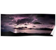 Purple Light Poster