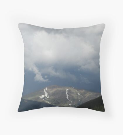 Storm Pending Throw Pillow