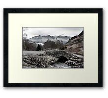 Ashness Bridge, Lake District England Framed Print