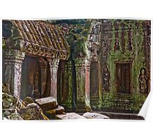 Angkor Thom Moss Poster