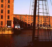 Albert Dock by Heather Allan