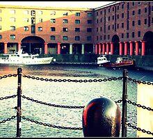 Albert Dock Liverpool by Heather Allan