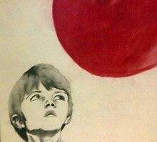 Boy and His Red Balloon by InPlainView5