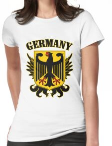 Germany Coat of Arms Womens Fitted T-Shirt