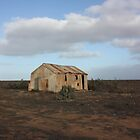 White Wells Station Nullarbor/B by Paul Birch
