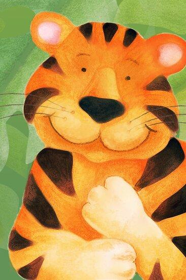 Kiddies Tiger by Sarah Trett