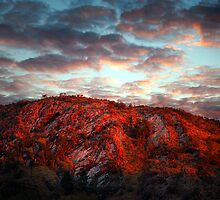 Arkaroola Hills at down  by linuxgear