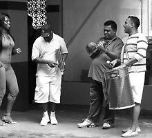 Rehearsing in Brazil by Maggie Hegarty