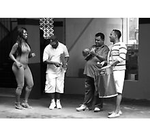 Rehearsing in Brazil Photographic Print