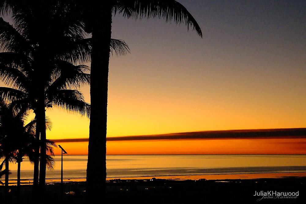Tropical Sunset, Broome, western Australia by Julia Harwood