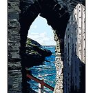 Tintagel Castle, Cornwall by prbimages
