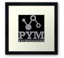 Pym Tech Framed Print