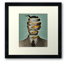 Inside the mind  Framed Print