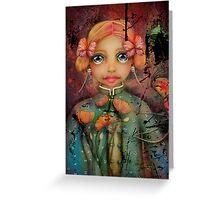 the poppy princess Greeting Card