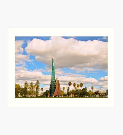 Perth Bell Tower. Art Print