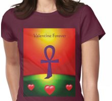 Valentine Forever Womens Fitted T-Shirt
