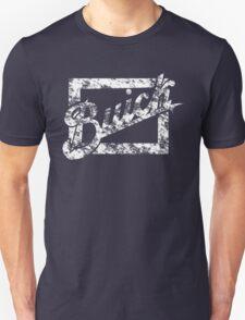 Buick Vintage Logo 1  White Script Unisex T-Shirt