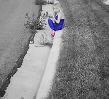 Hiding On The Curb '11 by Jazzy Scheib