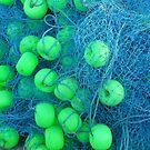 fishing net by rainbowvortex